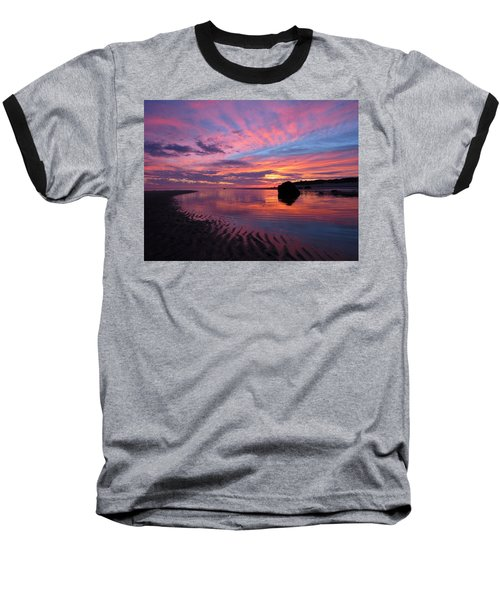 Sunrise Drama Baseball T-Shirt by Dianne Cowen