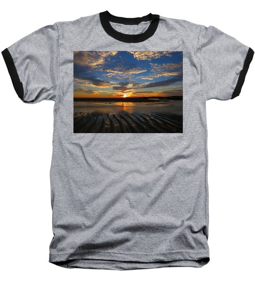 Sunrise Glory Baseball T-Shirt by Dianne Cowen