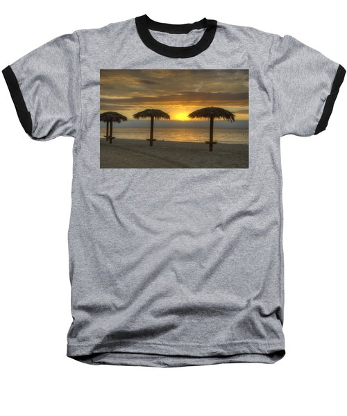 Sunrise Glory Baseball T-Shirt