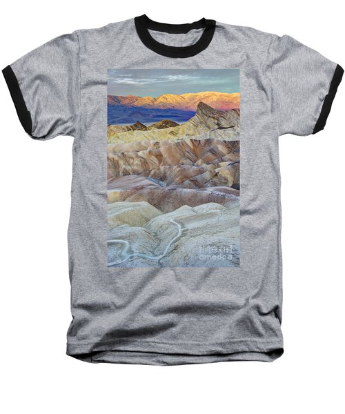 Sunrise In Death Valley Baseball T-Shirt by Juli Scalzi
