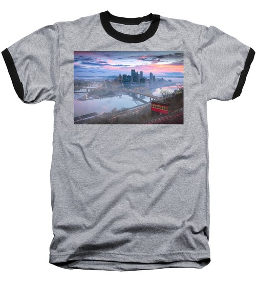 Pittsburgh Fall Day Baseball T-Shirt