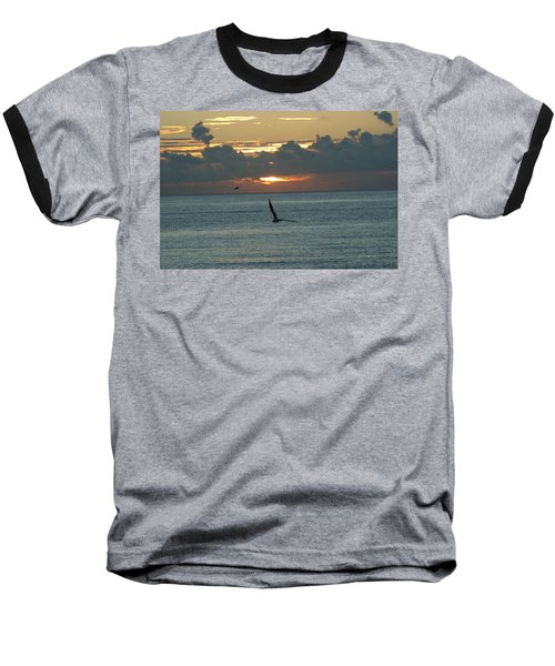 Baseball T-Shirt featuring the photograph Sunrise In The Florida Riviera by Rafael Salazar