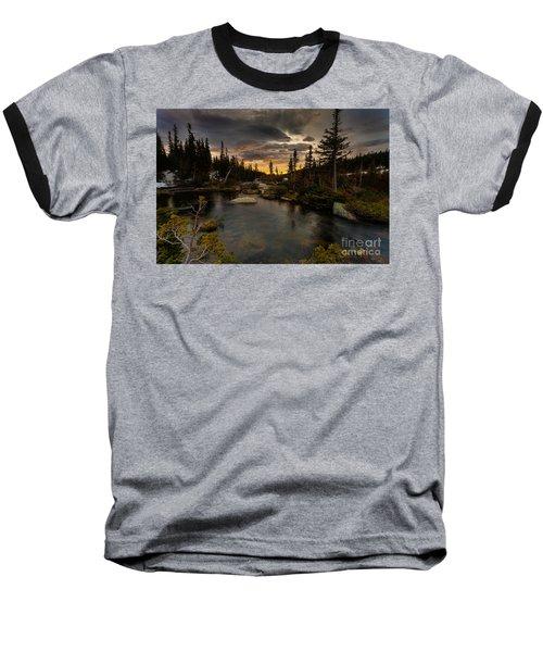 Sunrise In The Indian Peaks Baseball T-Shirt