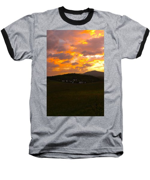 Sunrise In The Smokies Baseball T-Shirt