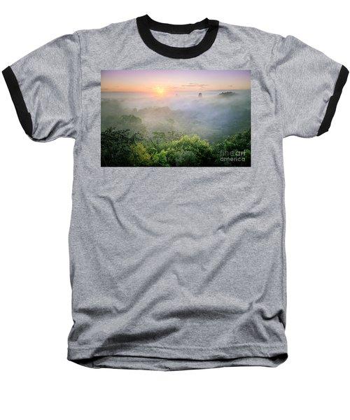 Sunrise In Tikal Baseball T-Shirt