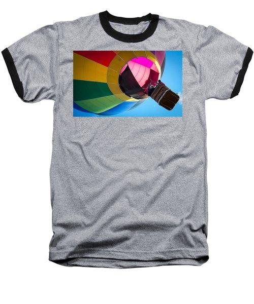 Sunrise Launch Baseball T-Shirt by Patrice Zinck