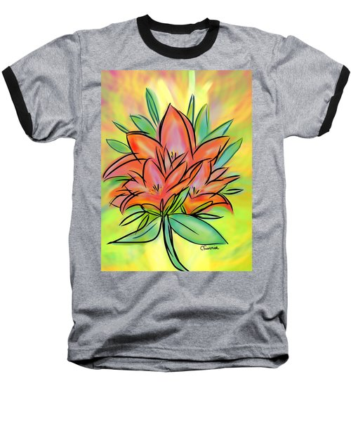 Sunrise Lily Baseball T-Shirt
