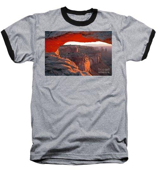 Sunrise Mesa Arch Canyonlands National Park Baseball T-Shirt