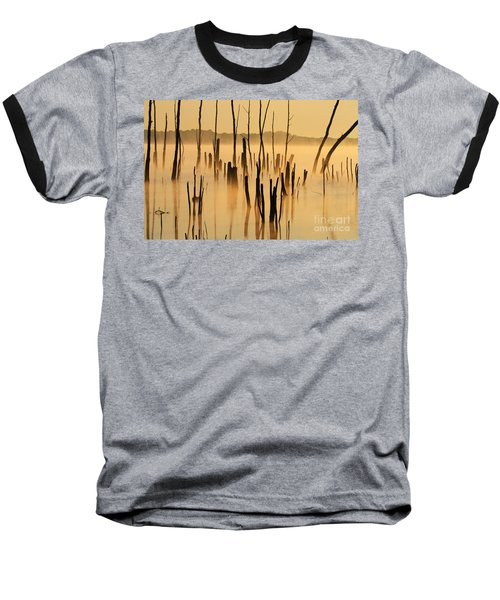 Sunrise Mist Baseball T-Shirt