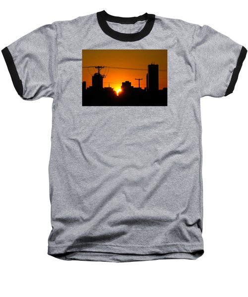 Sunrise -- My Columbia Seen Baseball T-Shirt