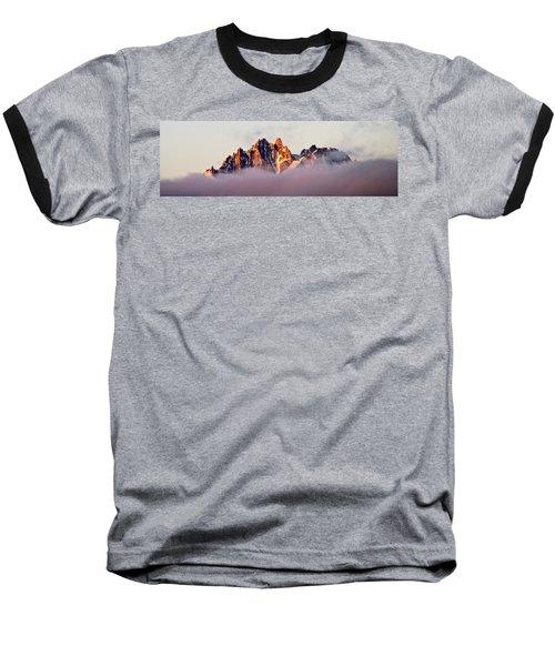 Sunrise On An Island In The Sky Baseball T-Shirt
