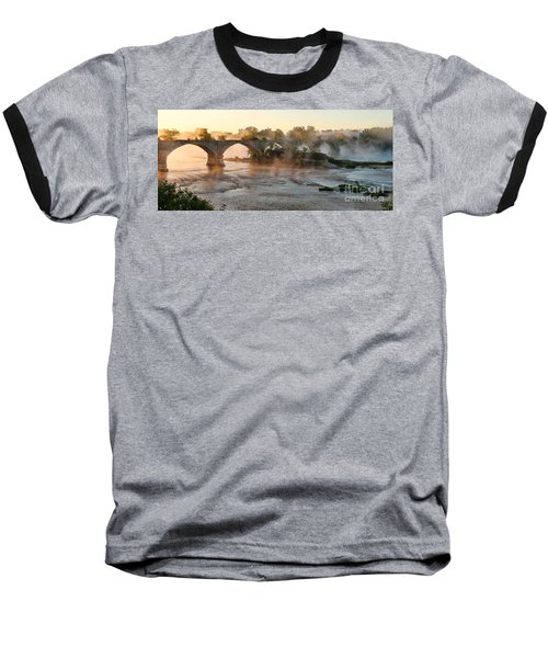 Sunrise On Interurban Bridge 0369 Baseball T-Shirt