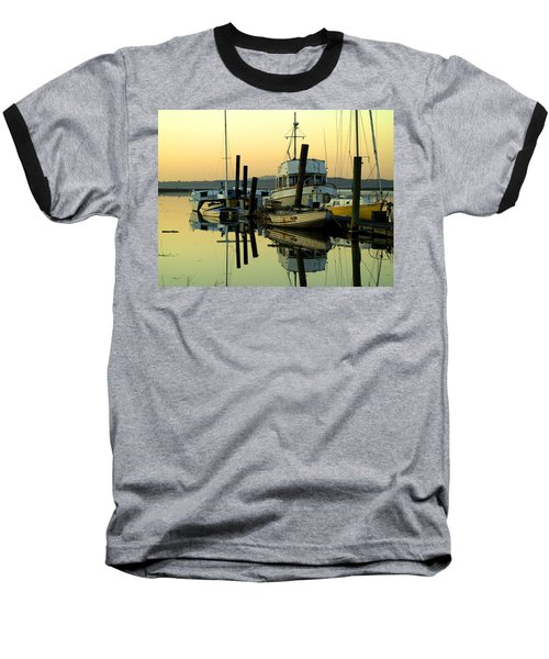 Sunrise On The Petaluma River Baseball T-Shirt