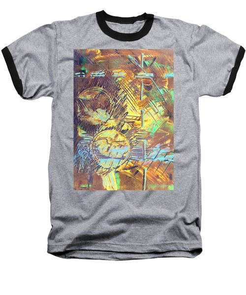 Sunrise One Baseball T-Shirt by Albert Puskaric