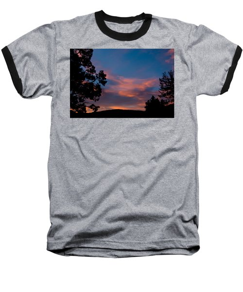 Sunrise Over Mammoth Campground Baseball T-Shirt