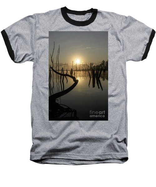Sunrise Over Manasquan Reservoir II Baseball T-Shirt