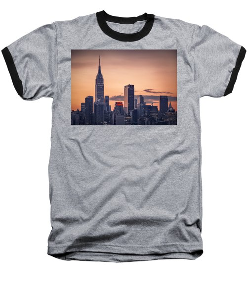 Manhattan Sunrise Baseball T-Shirt