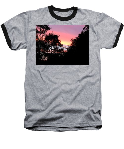 Sunrise Over Perry Baseball T-Shirt