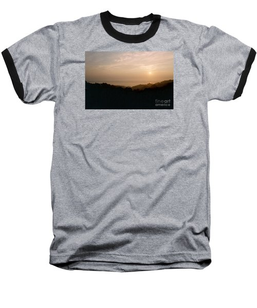 Sunrise Over The Illinois River Valley Baseball T-Shirt