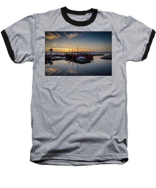 Sunrise Over The Sea Of Galilee Baseball T-Shirt