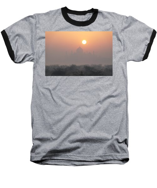Sunrise Over The Taj Baseball T-Shirt