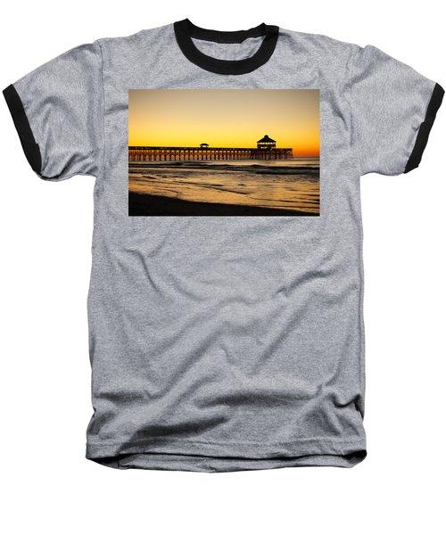 Sunrise Pier Folly Beach Sc Baseball T-Shirt