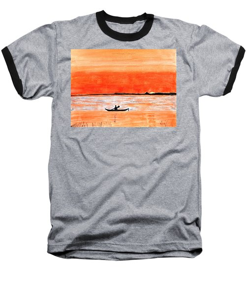 Sunrise Sail Baseball T-Shirt