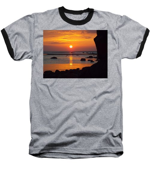 Sunrise Therapy Baseball T-Shirt by Dianne Cowen