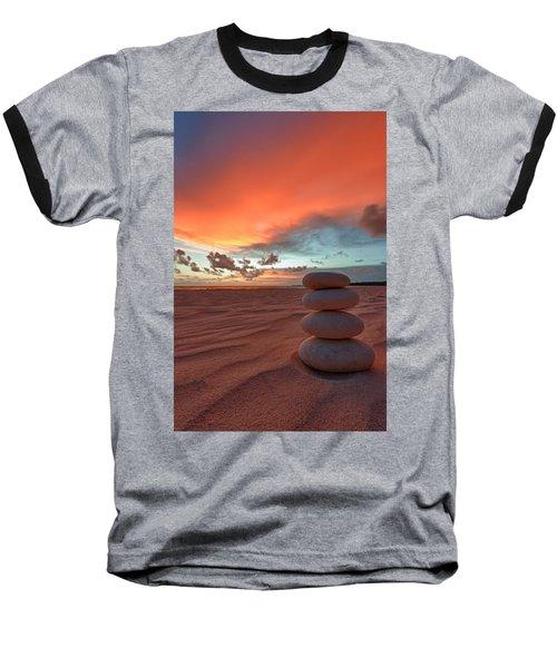 Baseball T-Shirt featuring the photograph Sunrise Zen by Sebastian Musial