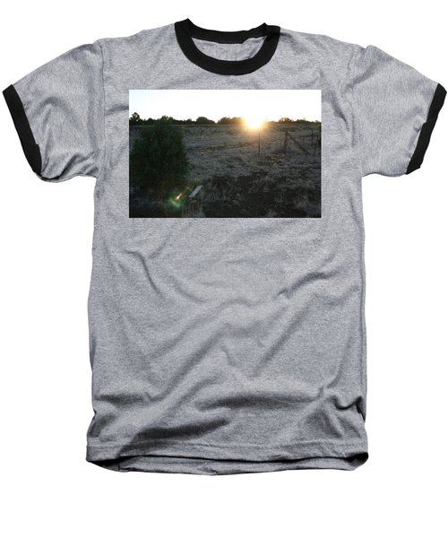 Baseball T-Shirt featuring the photograph Sunrize by David S Reynolds
