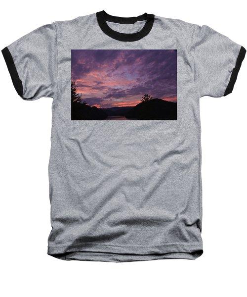 Sunset 2013 Baseball T-Shirt by Tom Culver
