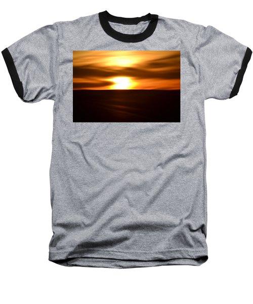 Sunset Abstract II Baseball T-Shirt