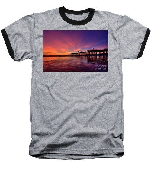 Sunset Afterglow Baseball T-Shirt