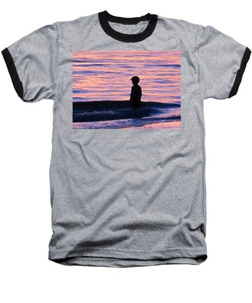 Sunset Art - Contemplation Baseball T-Shirt