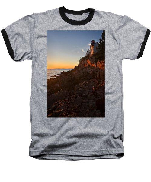 Baseball T-Shirt featuring the photograph Sunset At Bass Head   by Priscilla Burgers