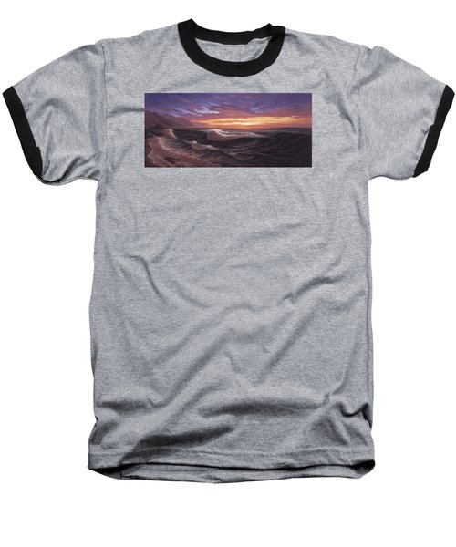 Sunset At Big Sur Baseball T-Shirt