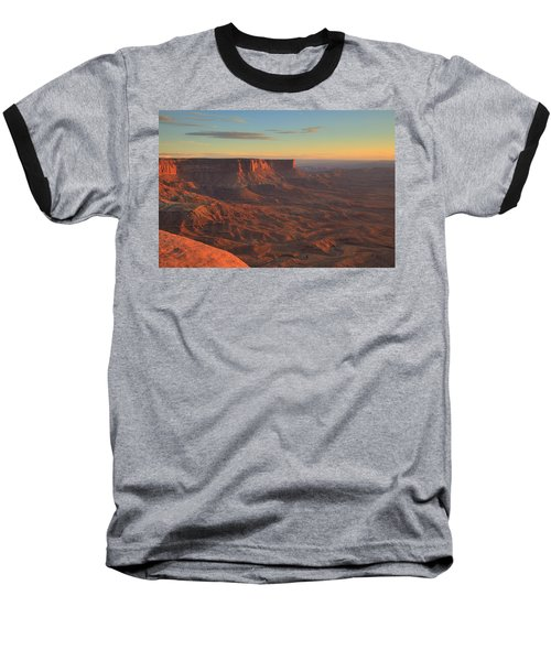 Baseball T-Shirt featuring the photograph Sunset At Canyonlands by Alan Vance Ley