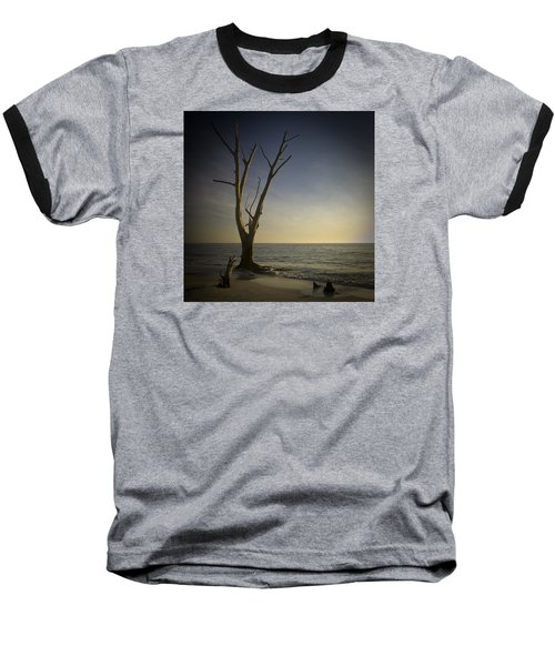 Sunset At Lovers Key Baseball T-Shirt