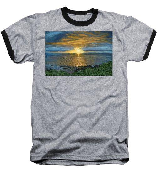 Sunset At Paradise Cove Baseball T-Shirt