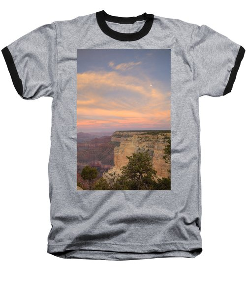 Baseball T-Shirt featuring the photograph Sunset At Powell Point by Alan Vance Ley