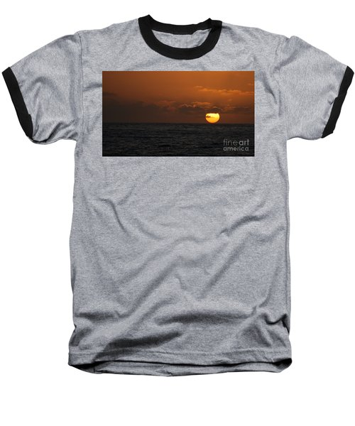 Sunset At St Ives Baseball T-Shirt