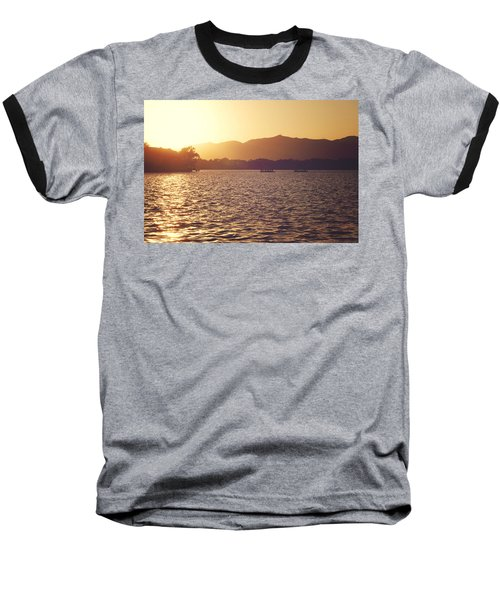 Baseball T-Shirt featuring the photograph Sunset At Summer Palace by Yew Kwang