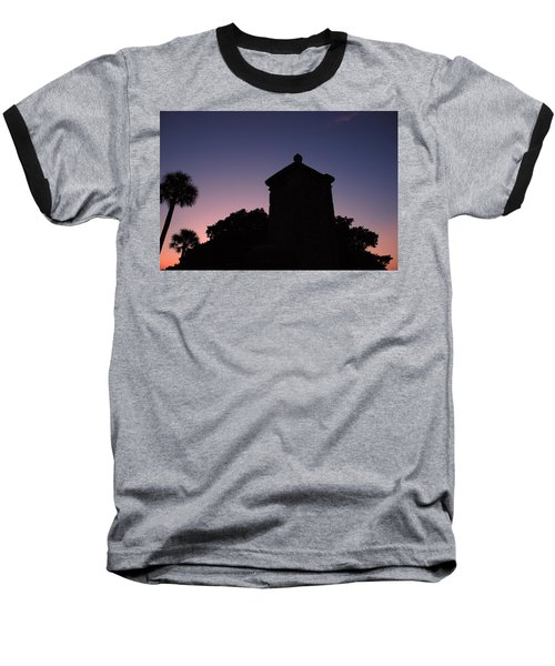 Sunset At The Gate Baseball T-Shirt