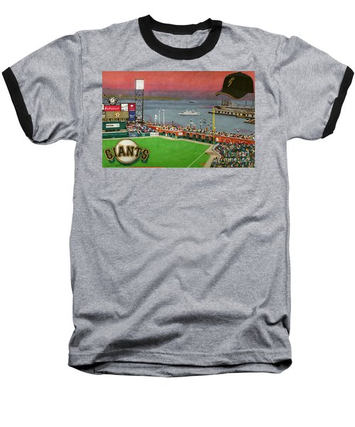 Sunset At The Park Baseball T-Shirt