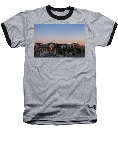 Sunset At Turner Field Baseball T-Shirt