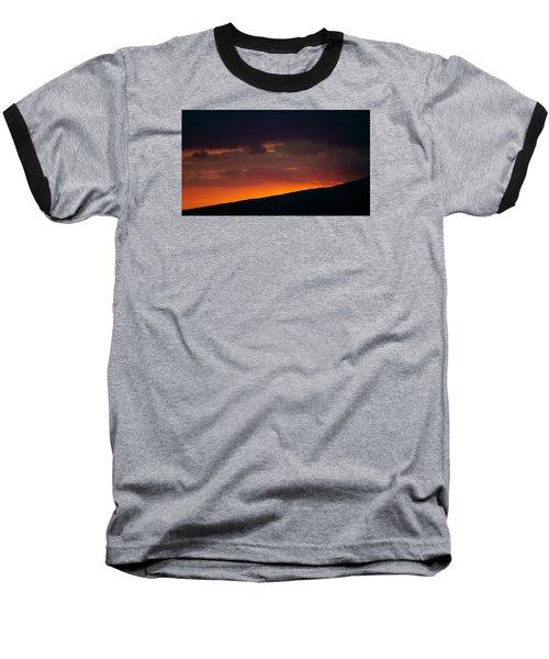 Sunset Beyond The Waianae Mountain Range Baseball T-Shirt