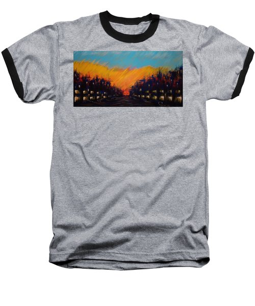 Sunset Boulevard Baseball T-Shirt