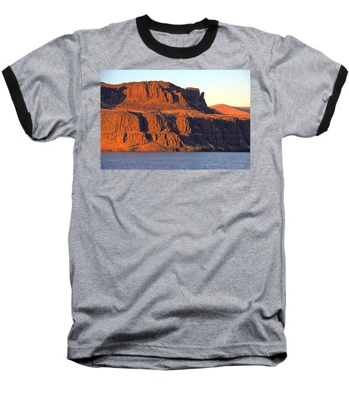 Sunset Cliffs At Horsethief  Baseball T-Shirt