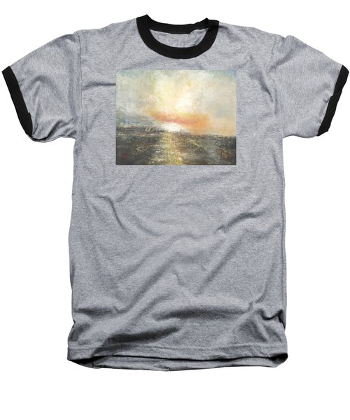 Sunset Drama Baseball T-Shirt