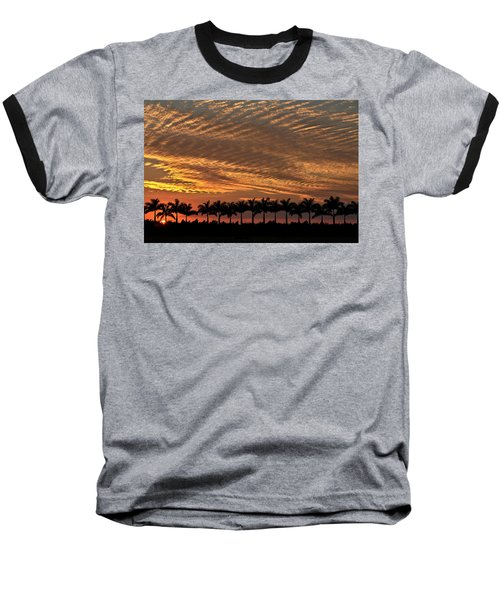 Sunset Florida Baseball T-Shirt
